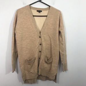 J crew v neck cardigan sweater